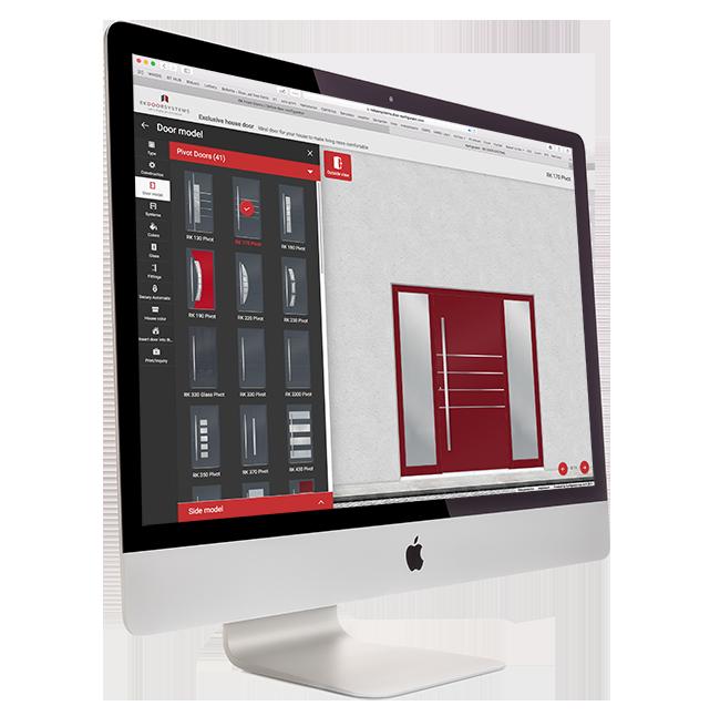 RK Door Designer online