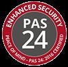 PAS 24 security door logo