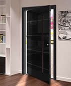 RK Glass faced Pivot Door
