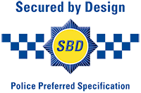 Secure by Design doors logo