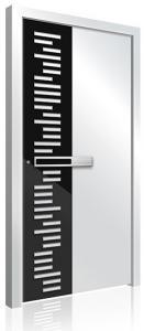 RK-3000 aluminium front door
