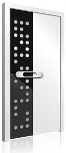 RK-3010 aluminium front door