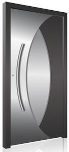 RK470 aluminium front door