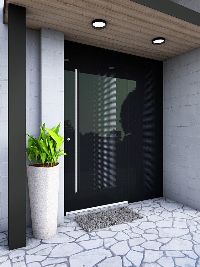 Glass faced RK 0079 door