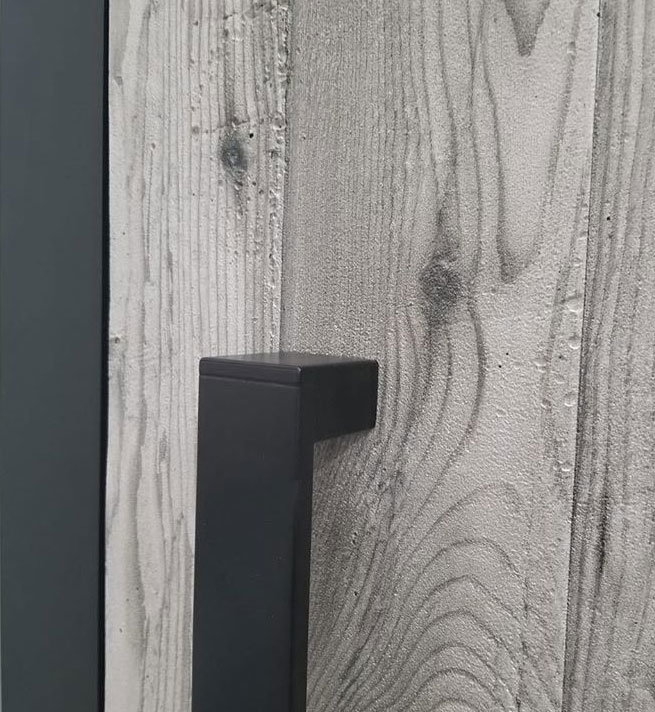 White wood effect with grain