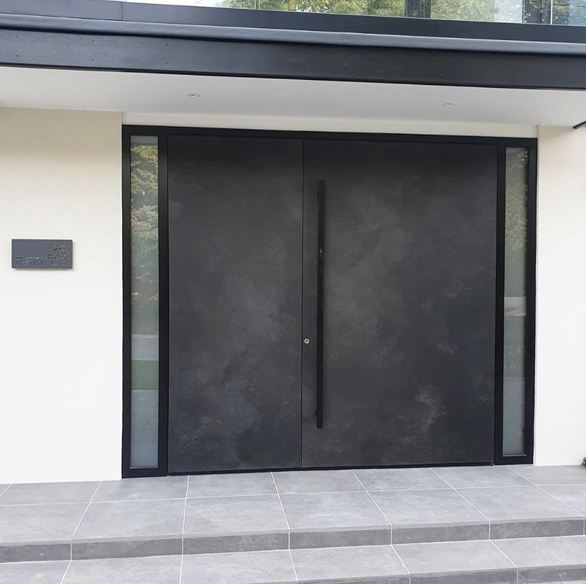 RK double Pivot doors