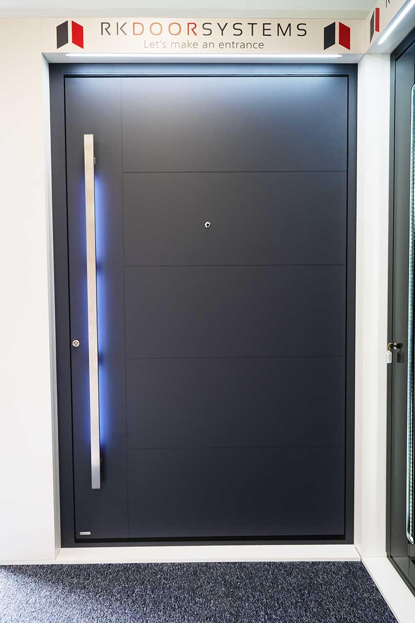 RK1400 Pivot door LED lighting