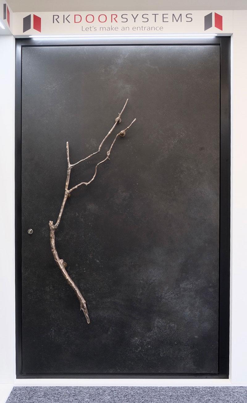 Bronze Branch handle Ossido Nero Ceramic Pivot